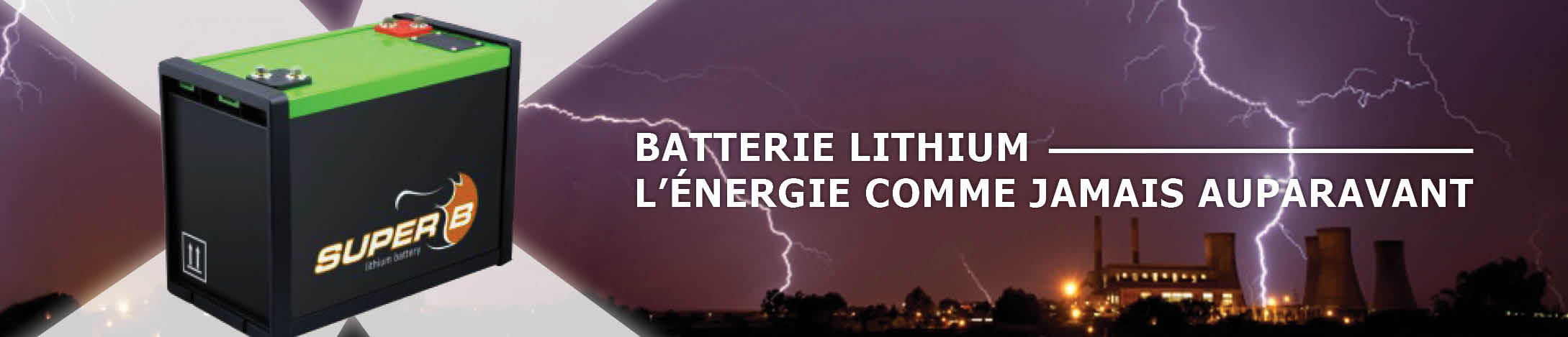 Batterie lithium camping car