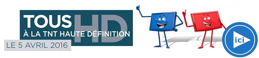 Télévision haute définition TNT HD