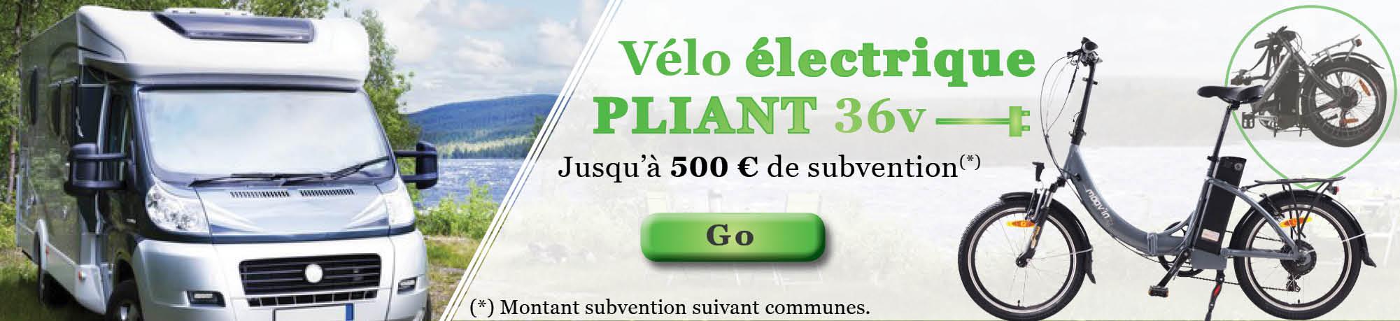 Vélo électrique pliant Moove 36V